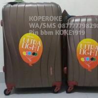 harga Tas koper hardcase polo team 24inci TSA lock expander coklat Tokopedia.com