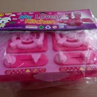 Mainan Edukatif / Edukasi Anak - My Lovely Kitchen Alat Masak Dapur