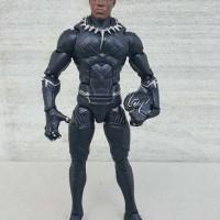 mainan action figure black panther full artikulasi dapat kepala