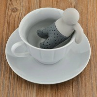 PENYARING DAUN TEH - infuser Tea bag man