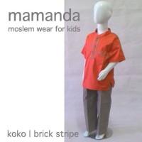 Koko Anak /Baju Muslim Anak 4-5thn Lucu Murah Merk Mamanda