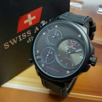 Jam Tangan Swiss Army Triple Time / Jam Swiss Army