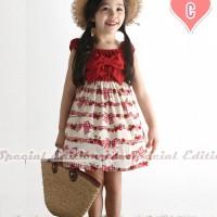 GW SE 12 RED RIBBON DRESS