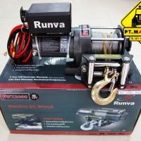 Runva DC Electric Winch EWX-2000 (900 Kg) untuk di Motor ATV