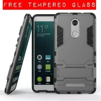 Armor rugged Case With Stand xiaomi redmi note 3 FREE TEMPERED GLASS