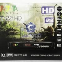 Receiver Parabola Tanaka Jurassic T-22 HD Powervu Autoroll T22 T 22 TV