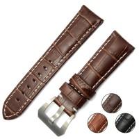 Crocodile Grain Leather Watch Strap Tali Jam Kulit 24mm - PAM Panerai