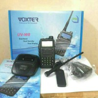 Harga radio ht handy talky voxter uv w8 | antitipu.com