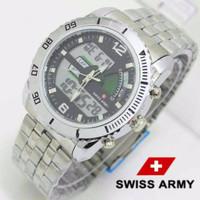 Jam Tangan Cowok / Pria  Swiss Army Double Time 1508 12TH