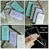 Paket Jelly ultrathin+ tempered glass Xiaomi Mi4 mi4w softcase mi4