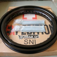 harga velg expedition ring 16-19 modif trail/cross Tokopedia.com