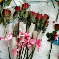 harga (best seller) bunga potong , buket bouqet bunga , medan depok semarang Tokopedia.com