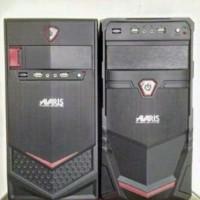 Satu Set 2 unit PC Warnet AMD X2 4000-5000 + Monitor 19 inch second