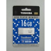 harga FLASHDISK / FLASH DISK TOSHIBA PUTIH 16 GB / READY JG 32 & 64 GB Tokopedia.com