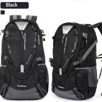 Tas Daypack Snta 5058 BLACK / Ransel /Hiking + Raincover