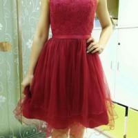 Jual Dress import /Gaun pesta pendek tutu /Dress pesta premium Murah