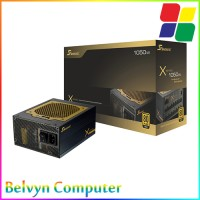 Seasonic X1050 1050W Full Modular 80 + Gold Certified Power Supply Pure