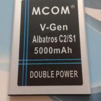 Jual  Baterai V-gen Albatros C2/s1 Double Power Merk Mcom  Baru | Ba