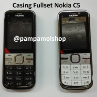 harga Casing / Case / Kesing Fullset / Full Set Nokia C5-00 Original China Tokopedia.com