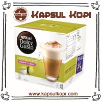 Jual Light Cappuccino Kapsul Kopi Nescafe Dolce Gusto Impor NDG Capsule Murah