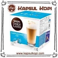 Jual Cappuccino Ice Kapsul Kopi Nescafe Dolce Gusto Impor NDG Capsule Murah