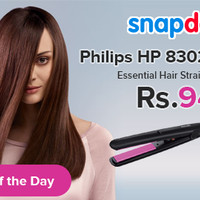 Philips Selfie Straightener Hp8302 - Hp 8302