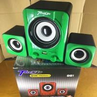 Speaker Laptop SUPER BASS TECKYO 881 + MEMORY VGEN 2GB
