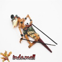 Jual Wayang Golek Kayu Batik Kado Unik Lucu Antik Kerajinan Tangan Handmade Murah