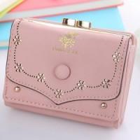 Daf373 Dompet Korea Import Wallet Lucu Dompet Kulit Kecil Mini Wanita
