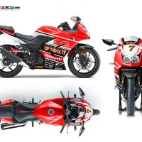 Ninja 250R Karbu - ARUBA IT WSBK
