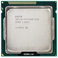 INTEL DUAL CORE G620 2.6 GHZ LGA 1155 TRAY + FAN