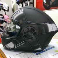 harga Helm INK CL-Max Full Fullface Black White Doff CLMax Hitam Dop Tokopedia.com