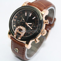 Aigner Bari SKY-02 Leather Brown Updt5 QFVH