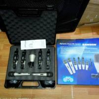mic drum kabel samson dmk 7 kit / dmk7kit