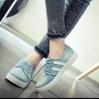 harga sepatu kets jeans RS06 BIRMUD Tokopedia.com