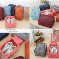 shoes pouch ver 3 happy travel tas sepatu sandal organizer