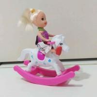 harga Mainan Barbie Baby + Kuda-kudaan Kemasan Plastik Murah Meriah Tokopedia.com