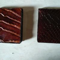 Dompet Kulit Buaya Asli dari Merauke, Papua