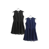 UNIQLO DRESS LACE AVAIL IN 3 COLOUR | Dress Wanita Dress Brukat