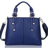 Tas Handbag Luxury 23276 Blue Wanita Import
