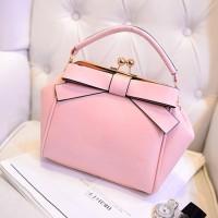Tas Handbag Selempang 23301 Pink Pita Besar