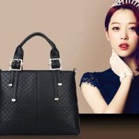 Tas Handbag Luxury 23276 Black Wanita Import