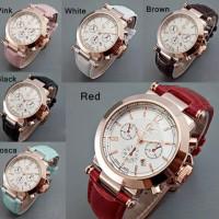 harga Jam Tangan Wanita GcChrono Polos Leather Cewek Cantik | No Smartwatch Tokopedia.com