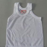 Singlet (Kaos Dalam Anak Putih & Wrna, Polos & Sablon) Widya size S, M