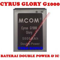 Baterai Cyrus Glory G1000 TBT9605 MCOM Battery Batrai Batere Batre