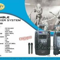 harga Portable Wireless Meeting Krezt Was 110b (10