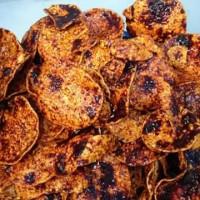 Jual Keripik pedasss selatpanjang (vegetarian) Murah