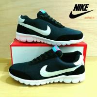 Sepatu Nike Free Running Hitam / Nike Free Runner Black