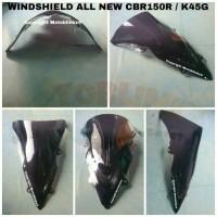 harga Windshield / Visor Smoke / Gelap Honda All New CBR 150R / K45G Tokopedia.com