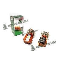 LED/CREE Headlamp RTD - H4 Tipe M11M + Kipas / Fan [MOTOR SPORT]